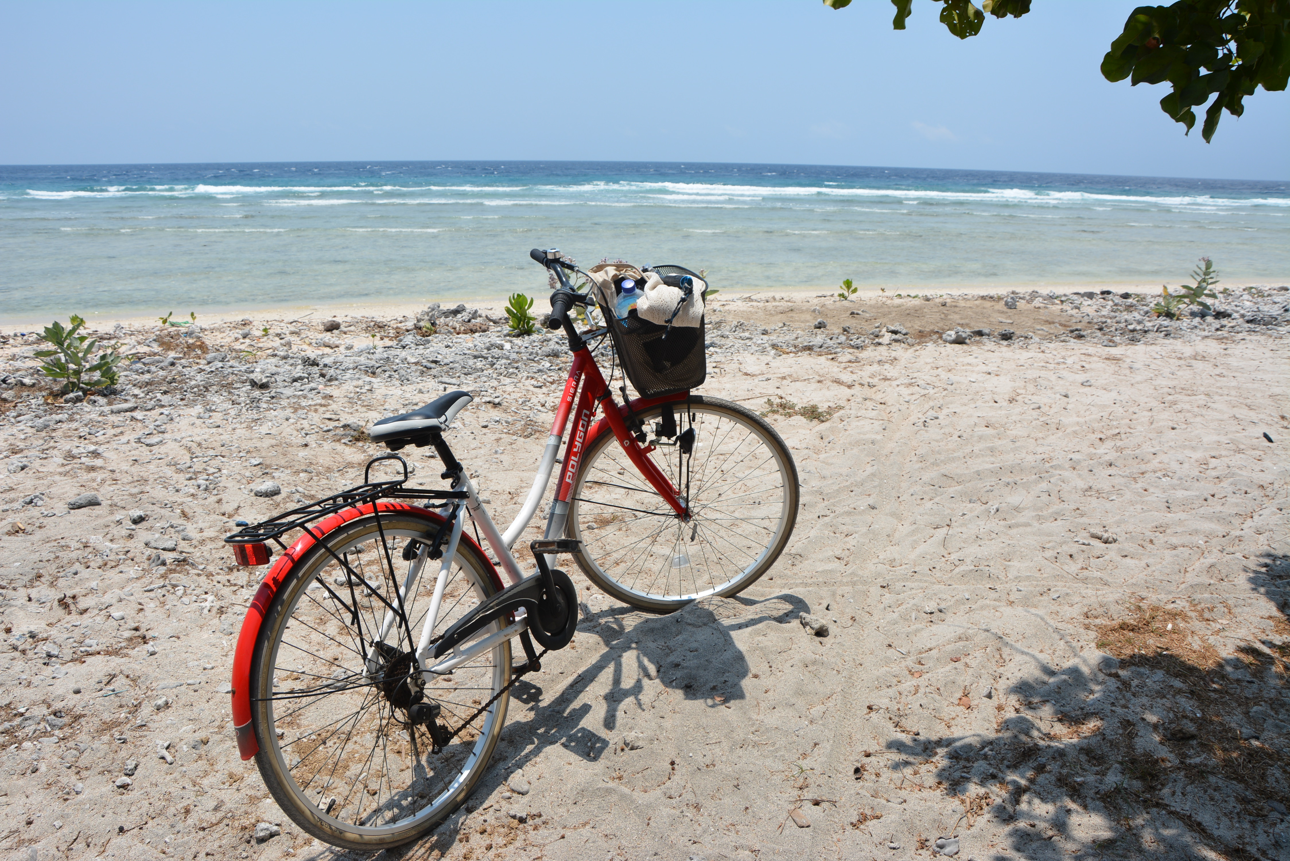 Hiring a bike on Gili t