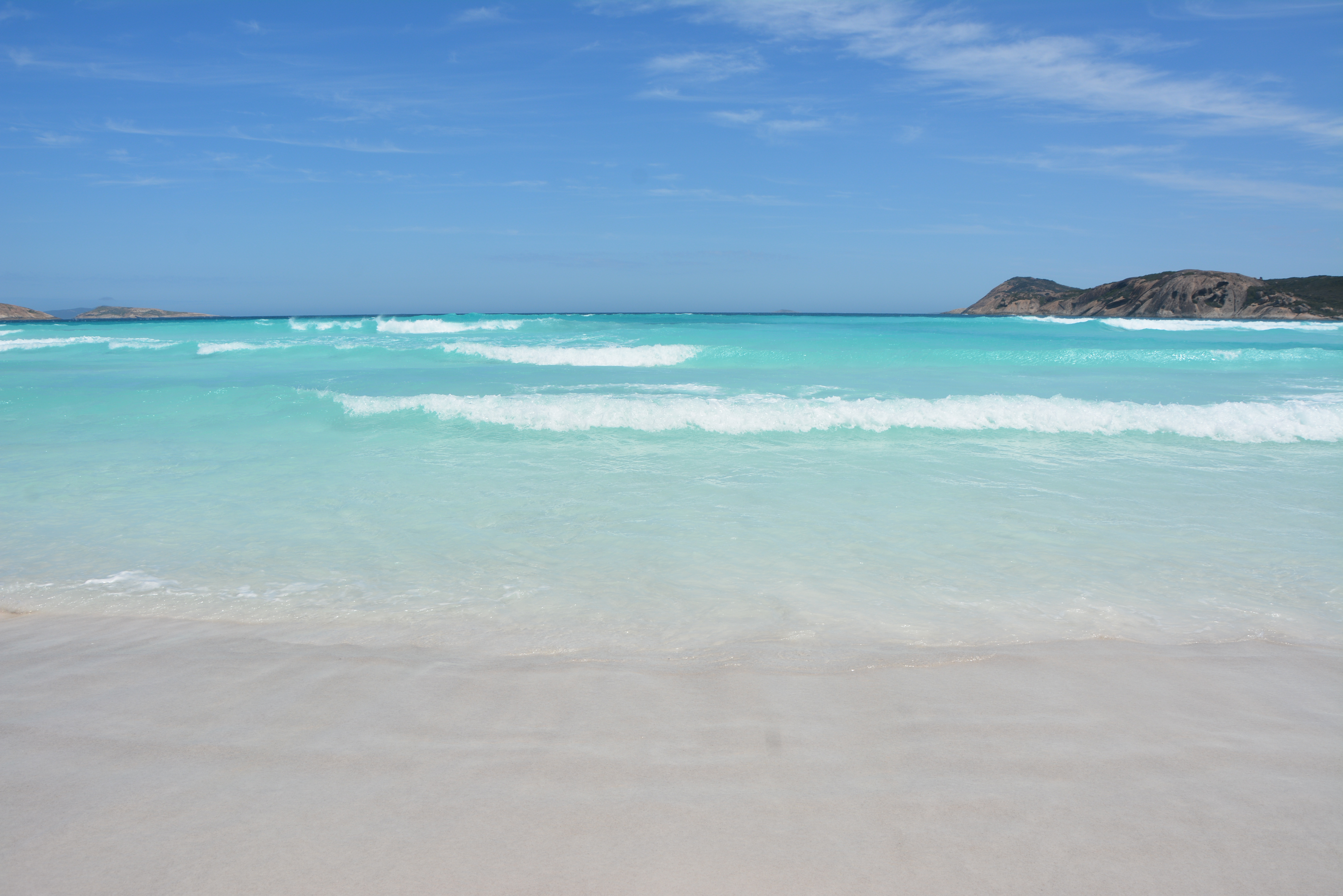 lucky bay water