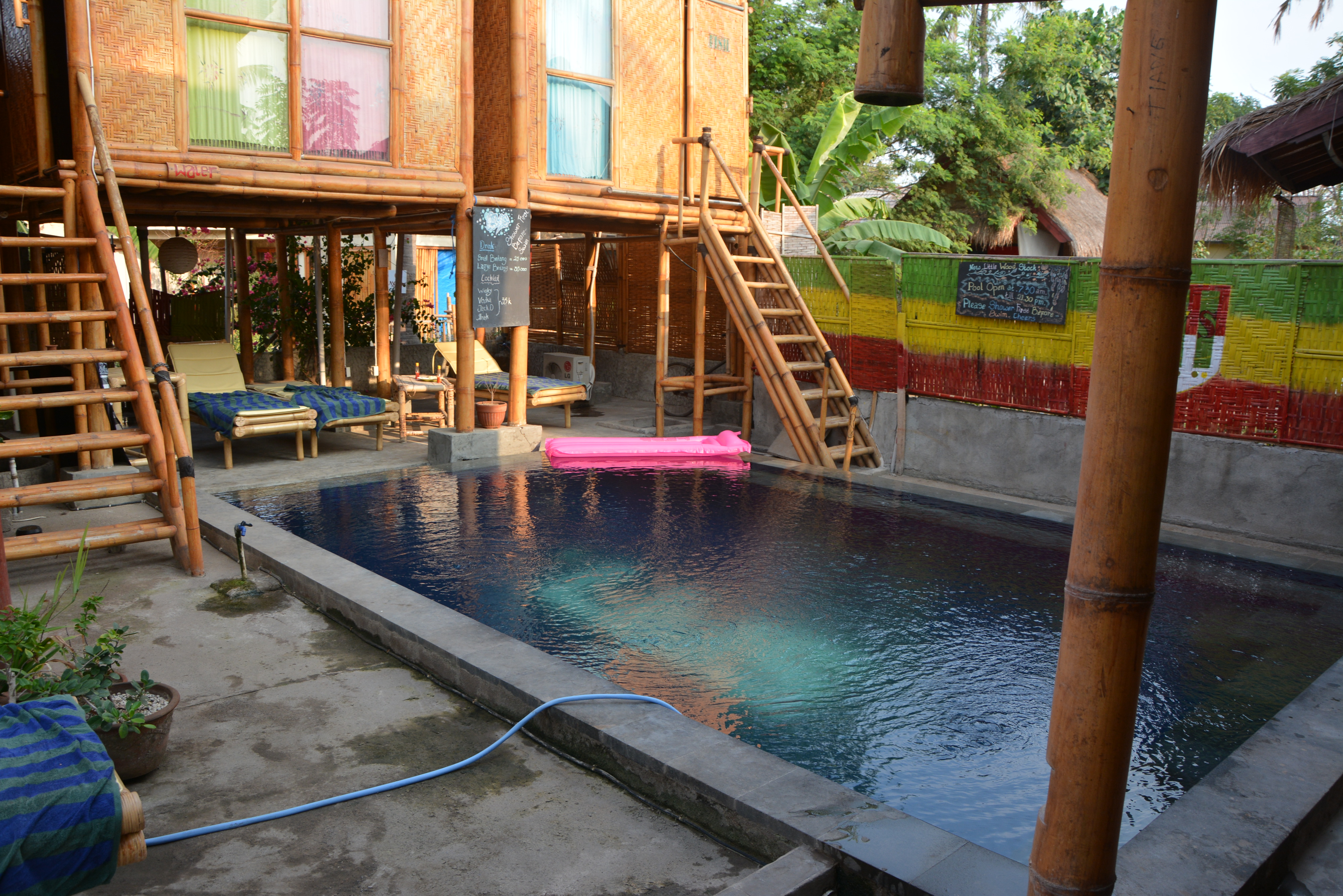 Little Woodstock home stay Gili Trawangan