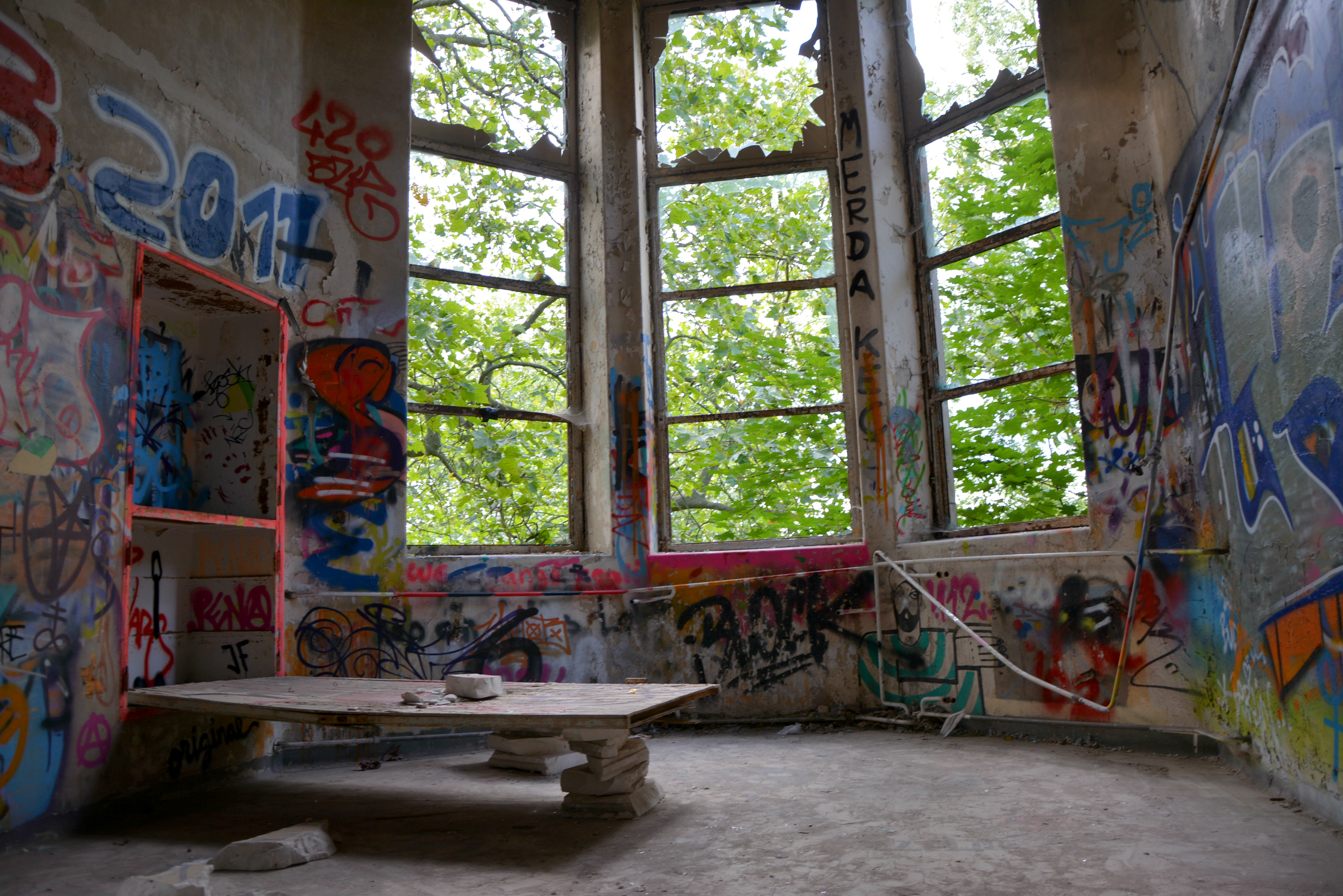 Abandoned Places in Berlin Abandoned Childrens Hospital rooms