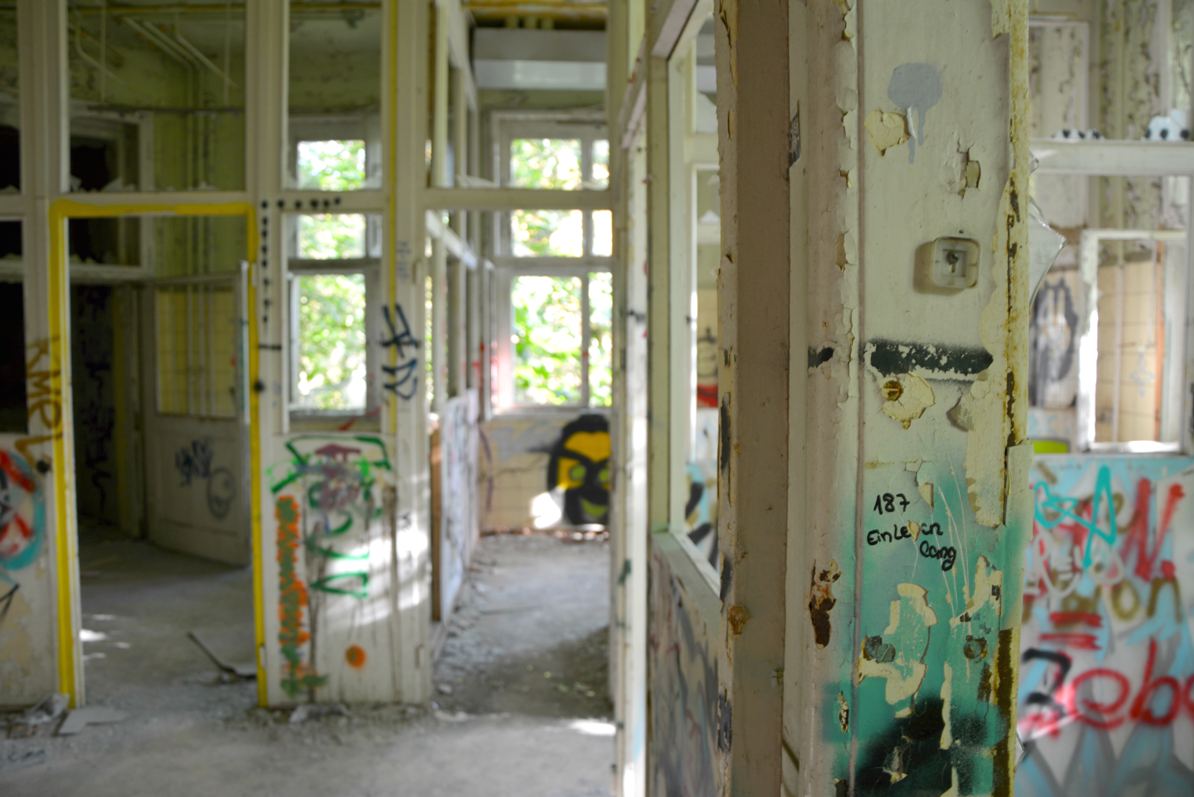 Abandoned Places in Berlin Abandoned Childrens Hospital Inside Art