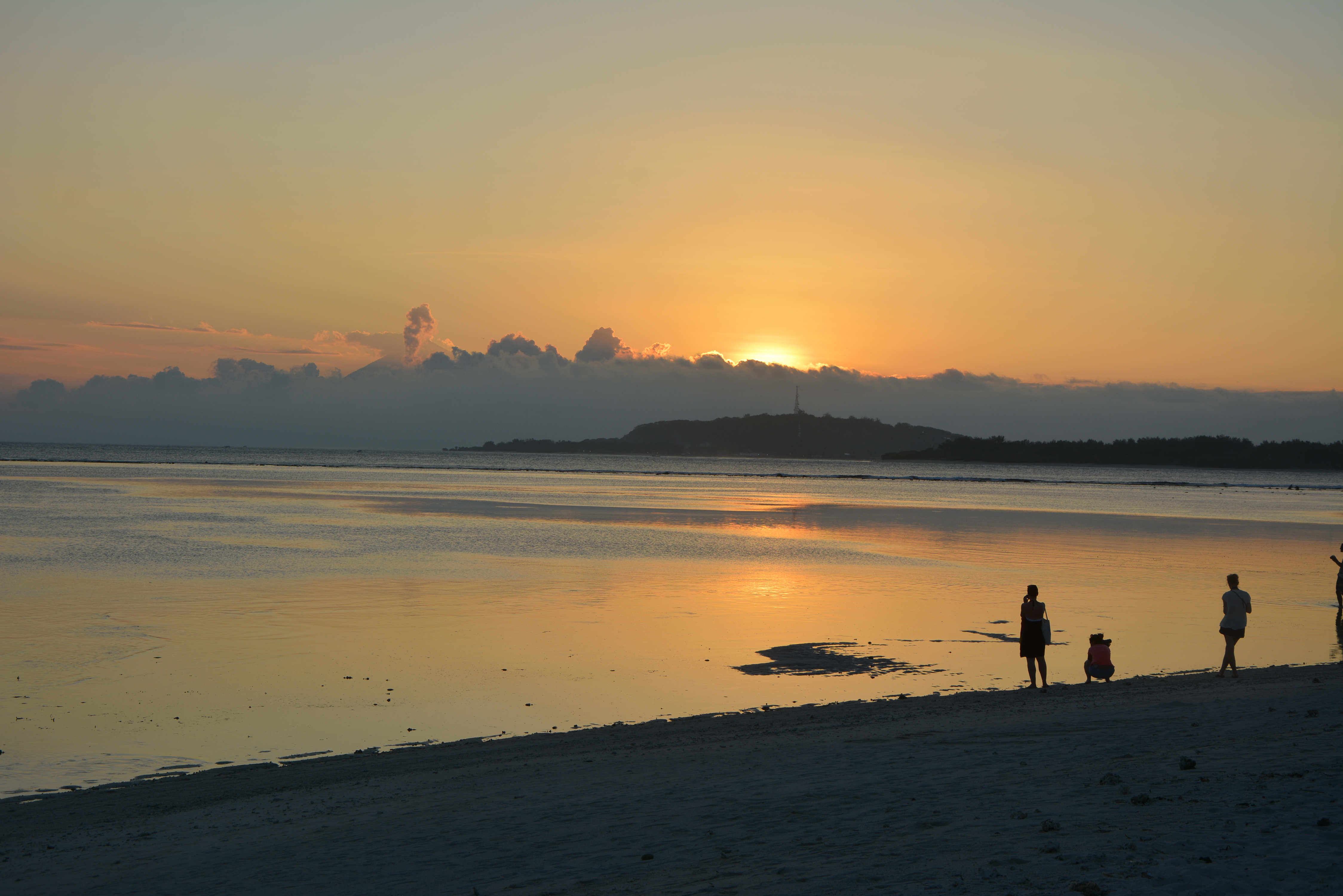 gili air sunset