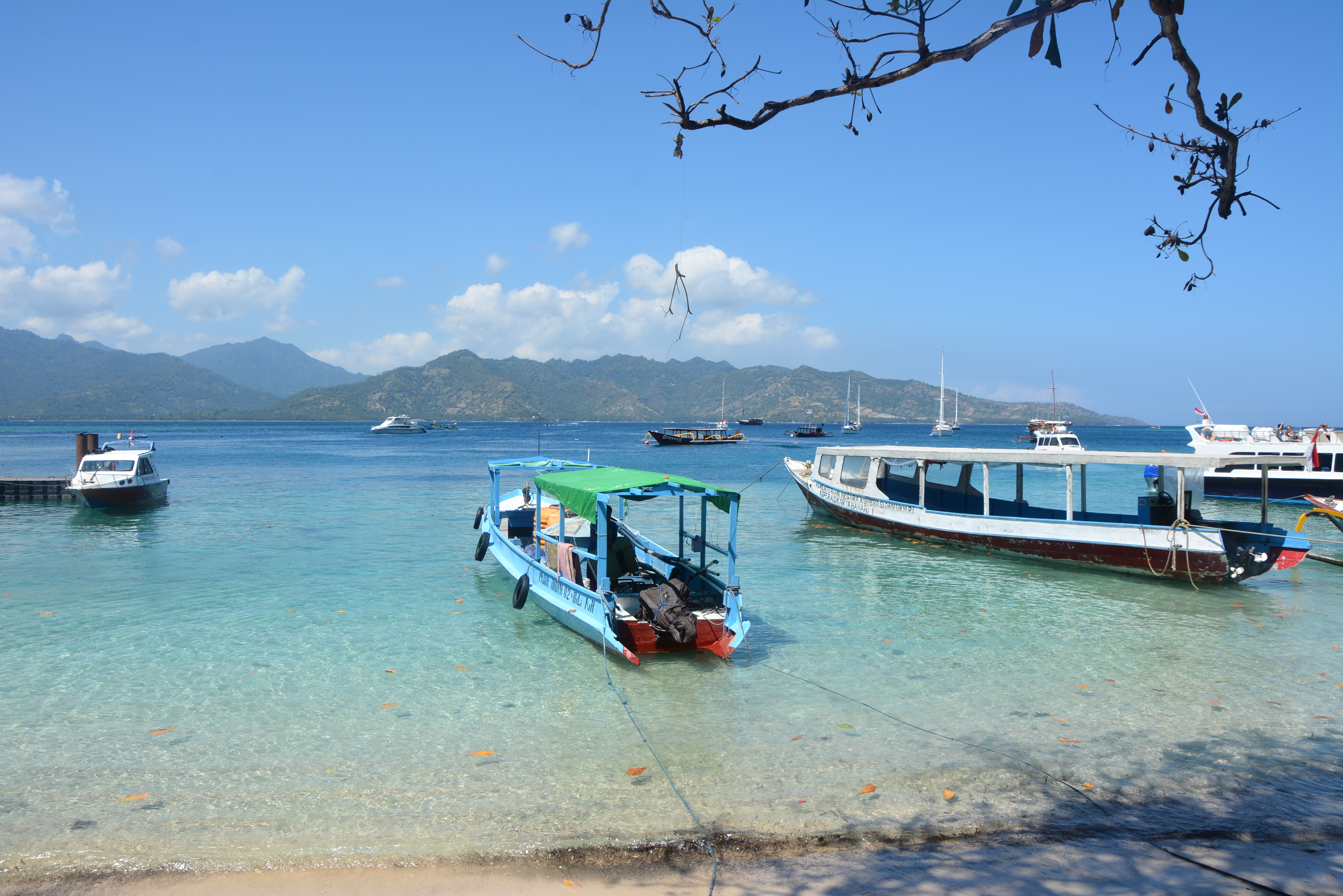 gili air beautiful beaches