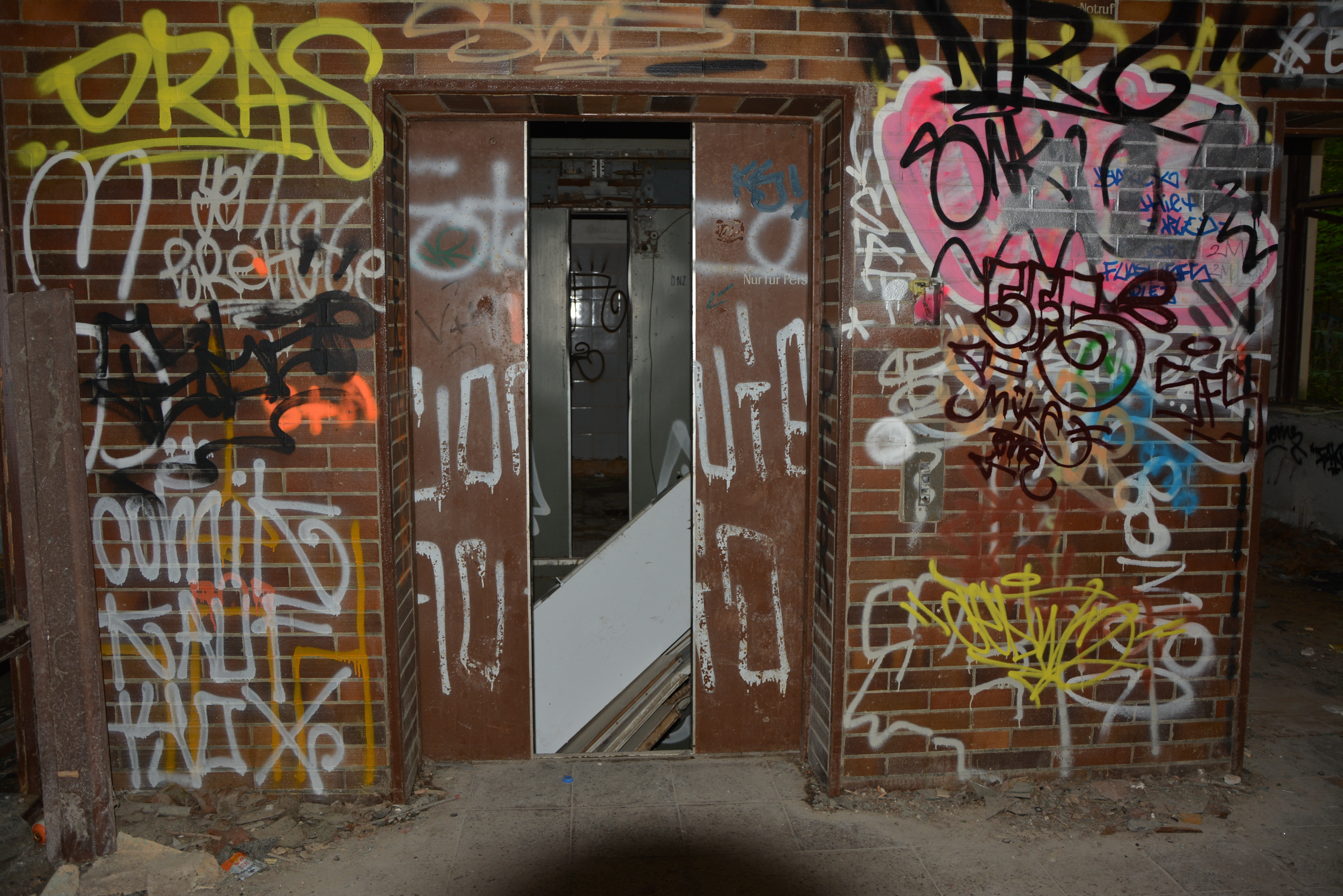 Abandoned Places in Berlin Abandoned Childrens Hospital Lift Shaft
