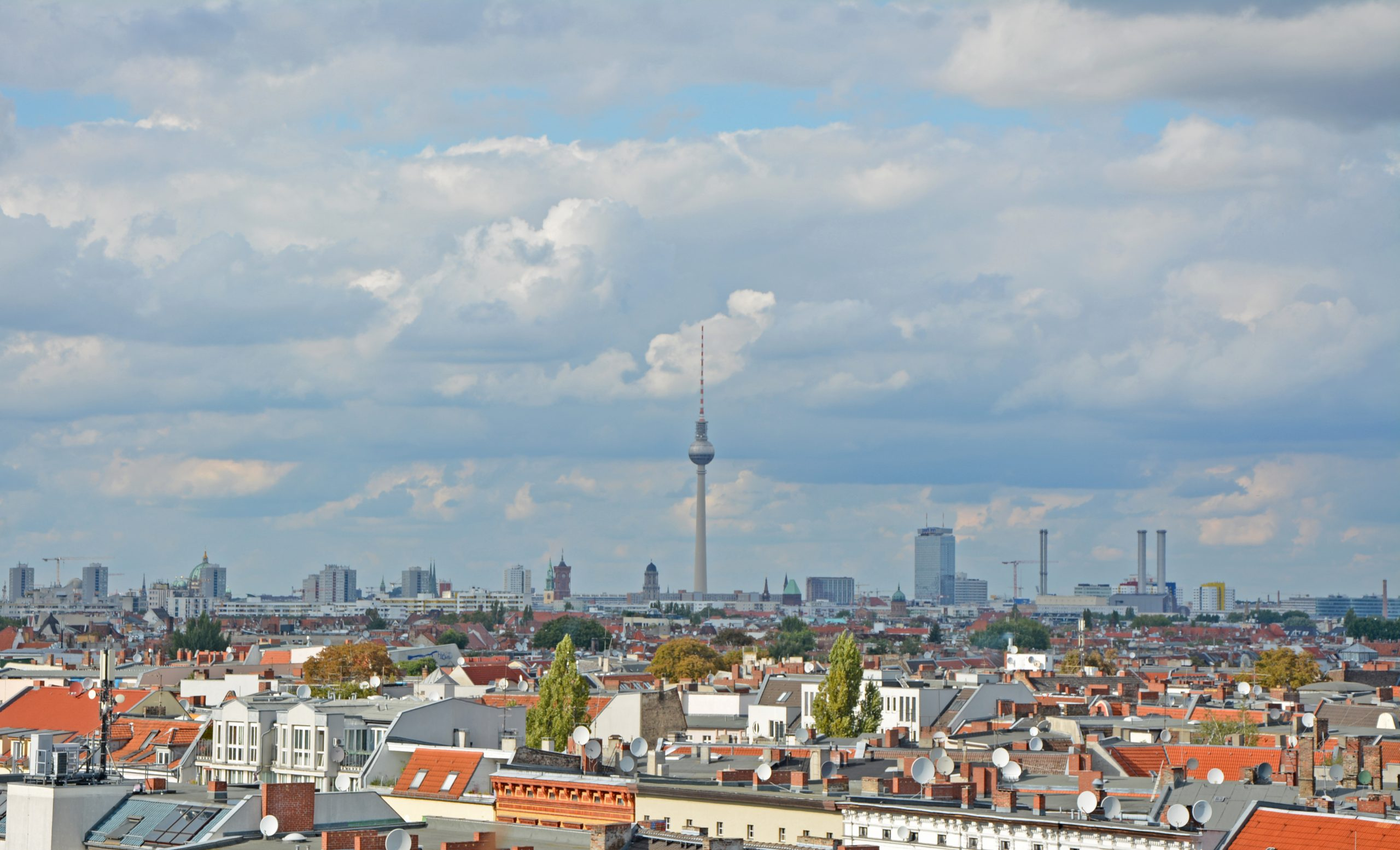 Klunkerkranich Rooftop Bar View Berlin