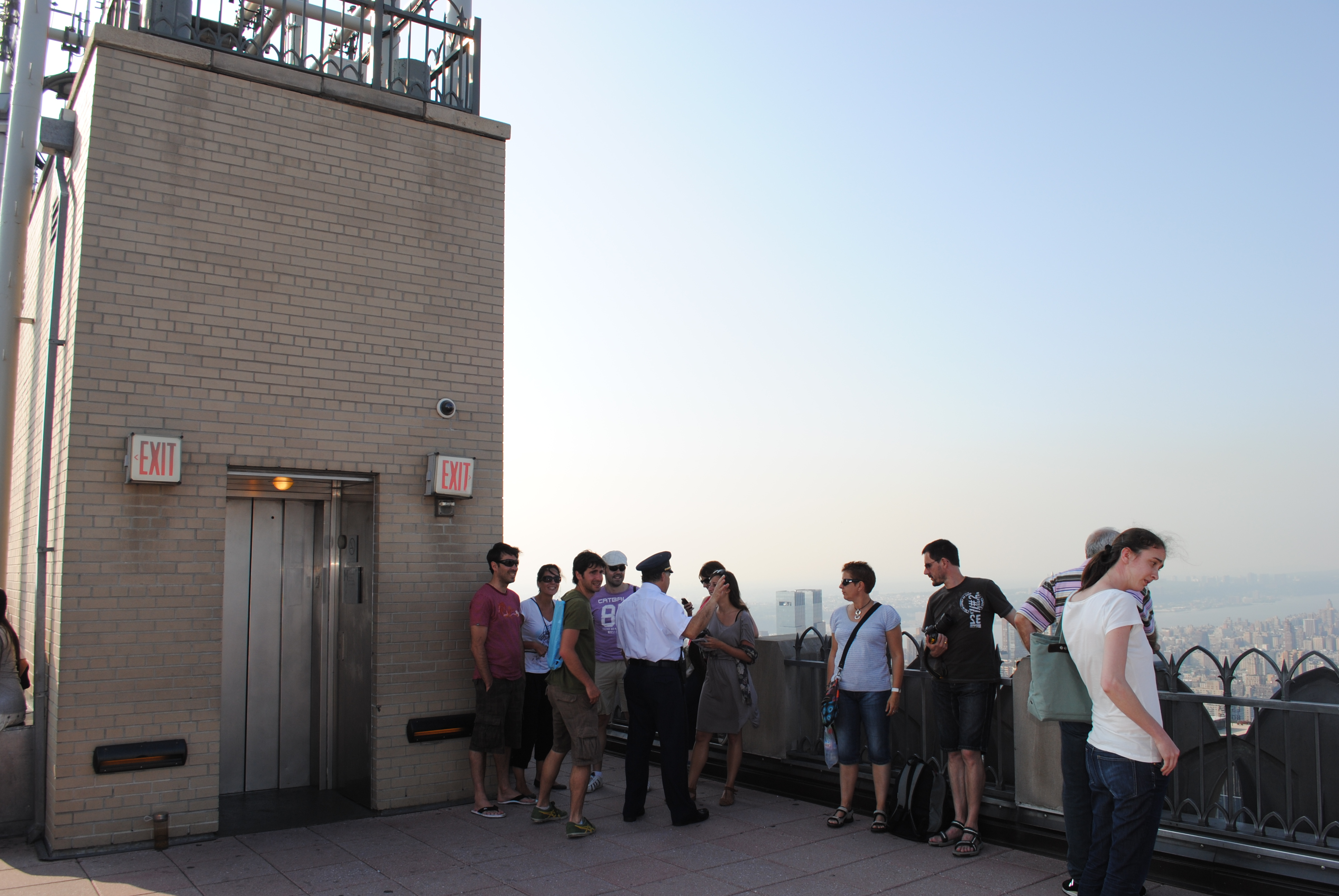 Security at The Top of The Rock