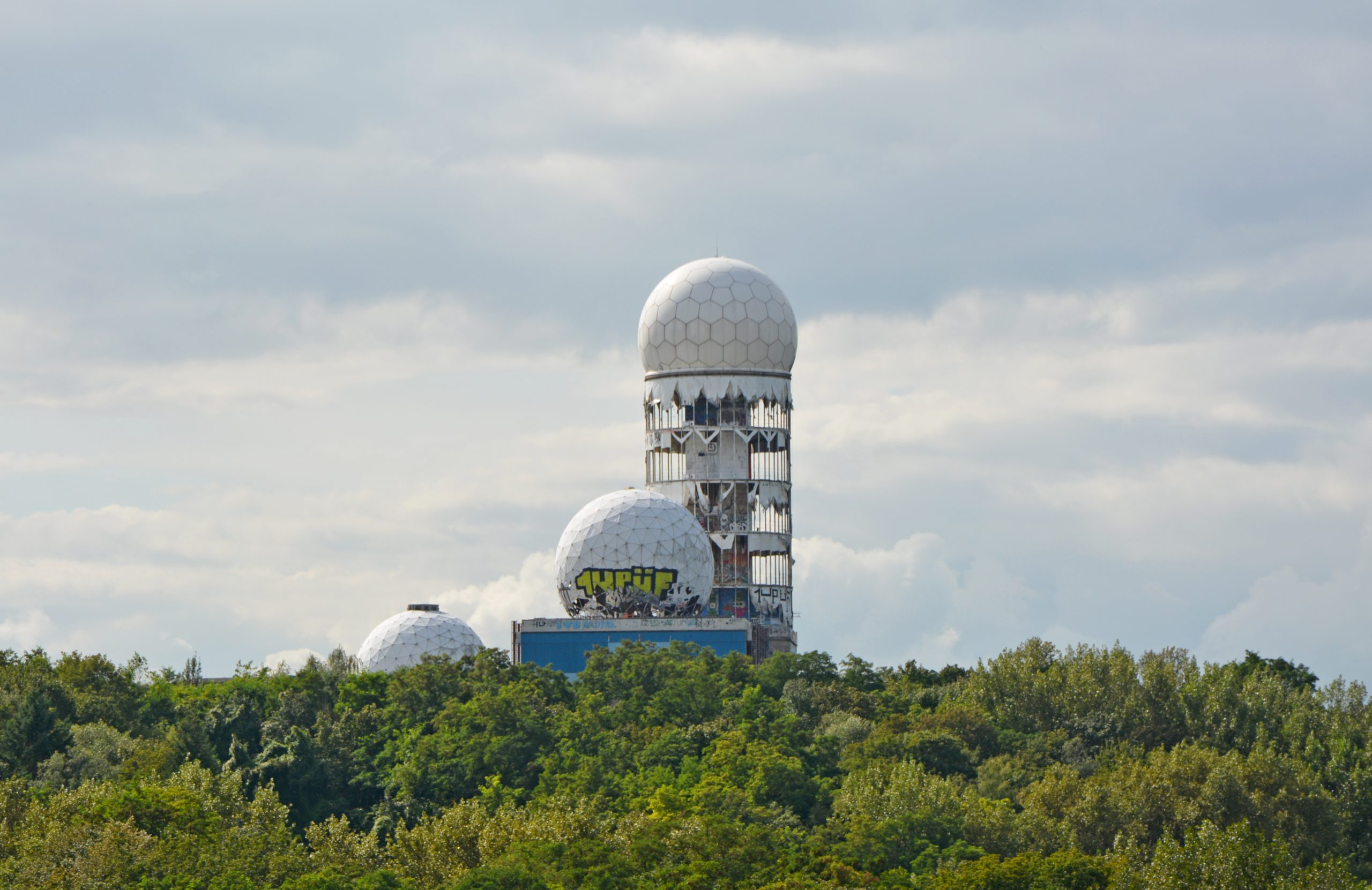Abandoned Berlin abandoned places NSA Spy base teufelsberg