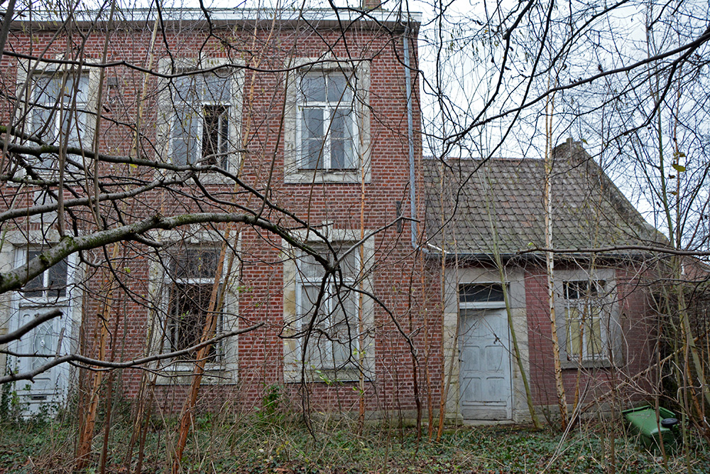 abandoned priest house landen belgium