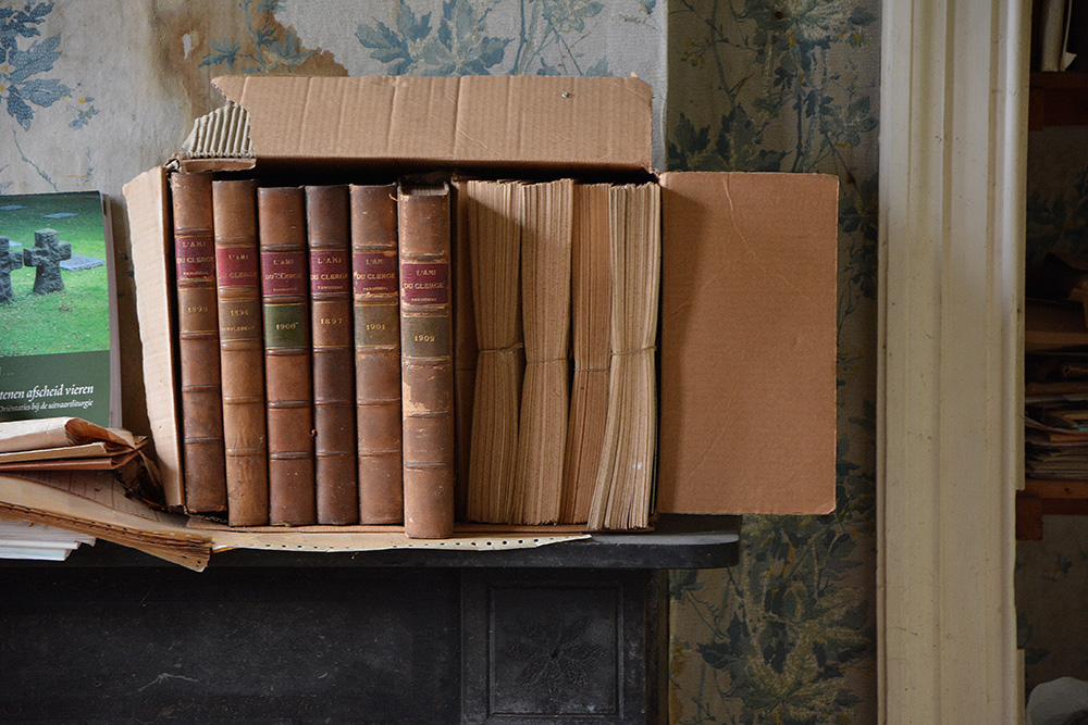 abandoned priests books