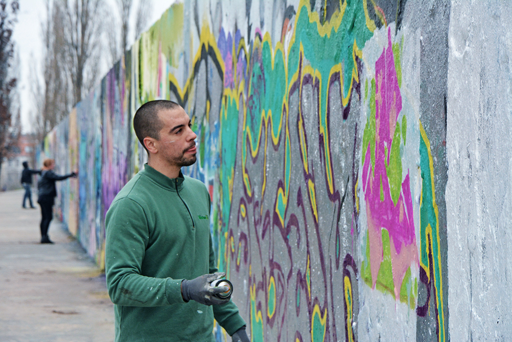 graffiti school Berlin with Sylvain