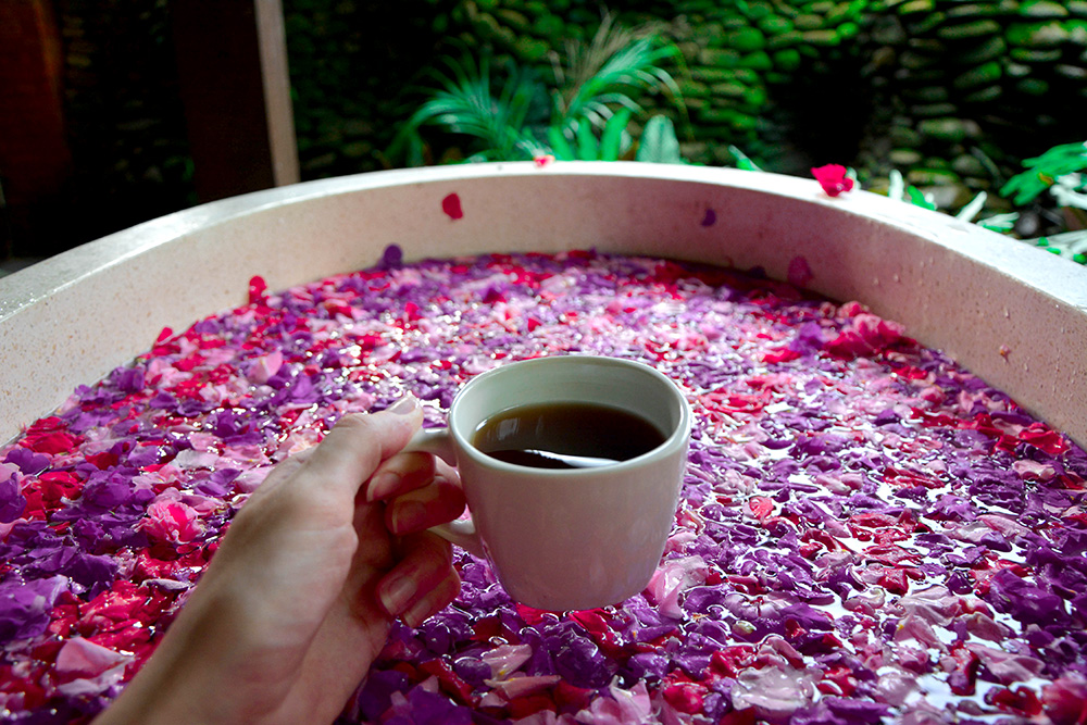 karsa spa flower bath