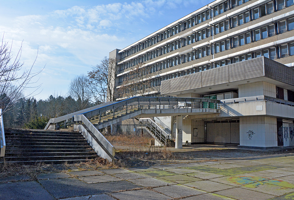 Abandoned Places Berlin Helios Klinikum Berlin Buch