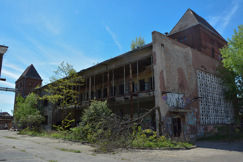 Abandoned Barenquell Brewry in Berlin