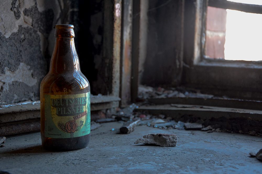 Abandoned Brewery Berlin Beer Bottle Bärenquell Brewery