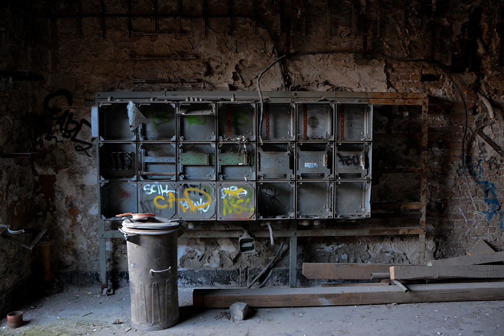 abandoned brewery electricals