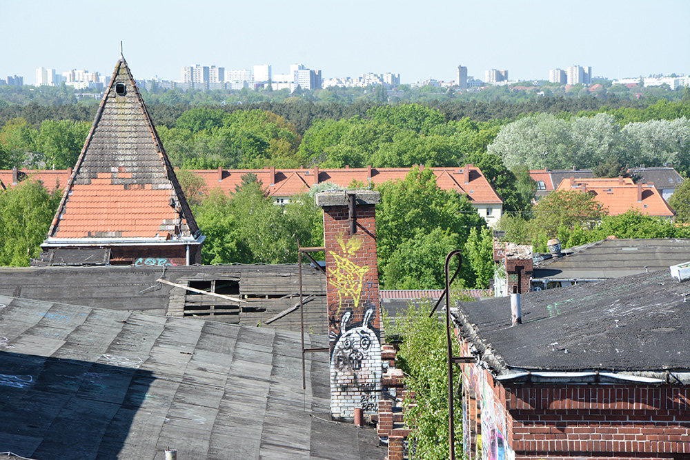 Abandoned Brewery Rooftop Bärenquell Brewery