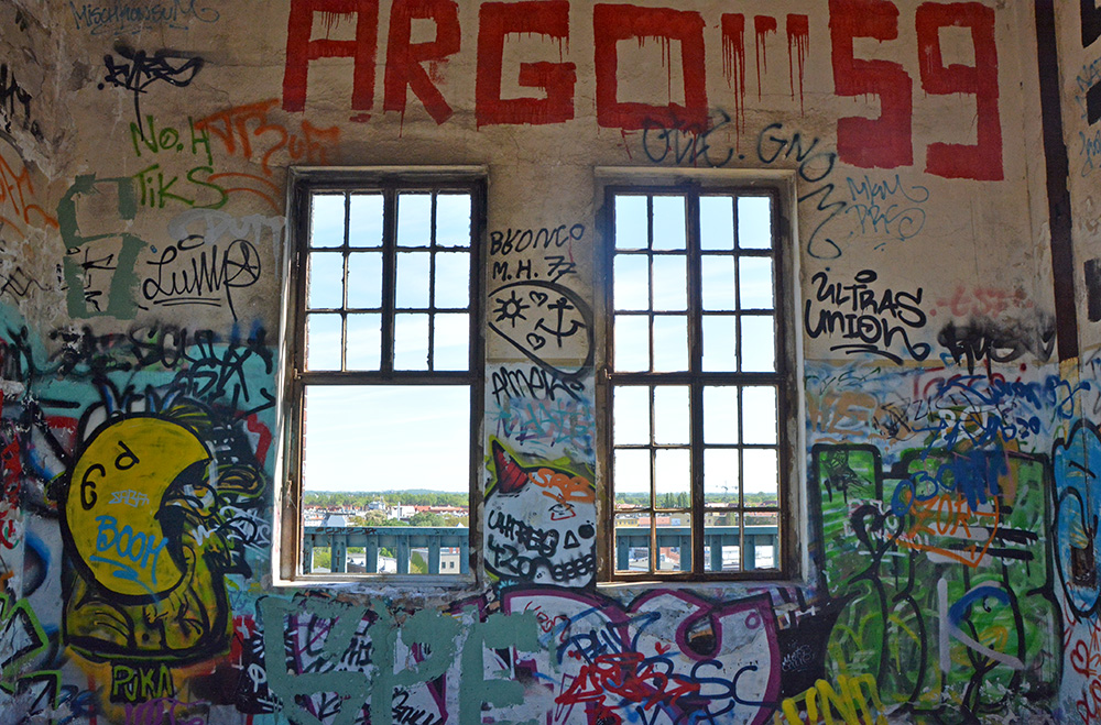Abandoned Brewery Tower Berlin