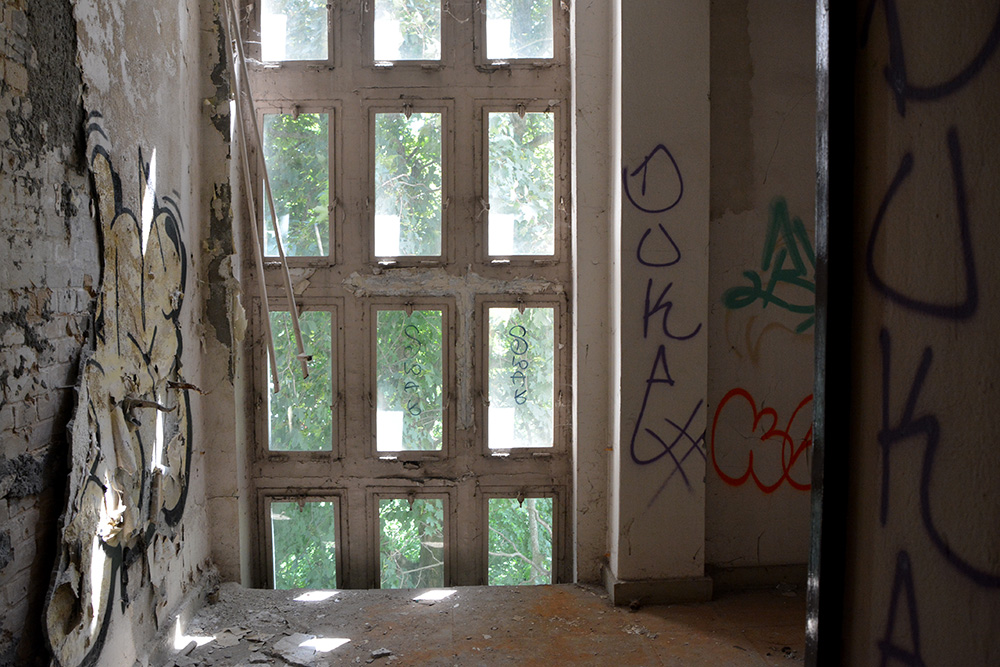 Abandoned Office Complex Wiessensee Inside