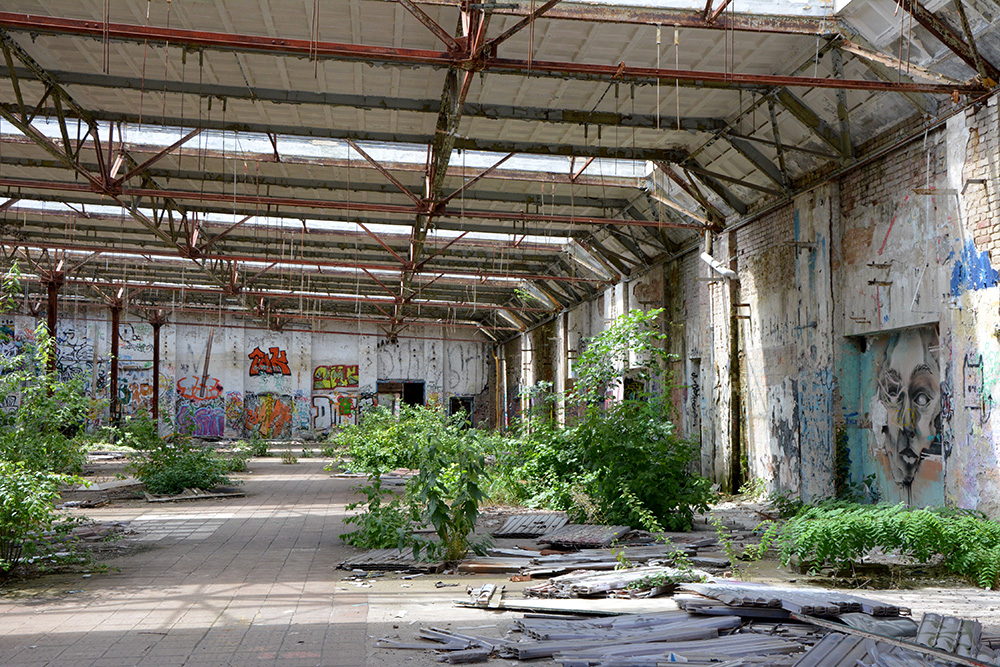 abandoned cable factory abandoned berlin inside