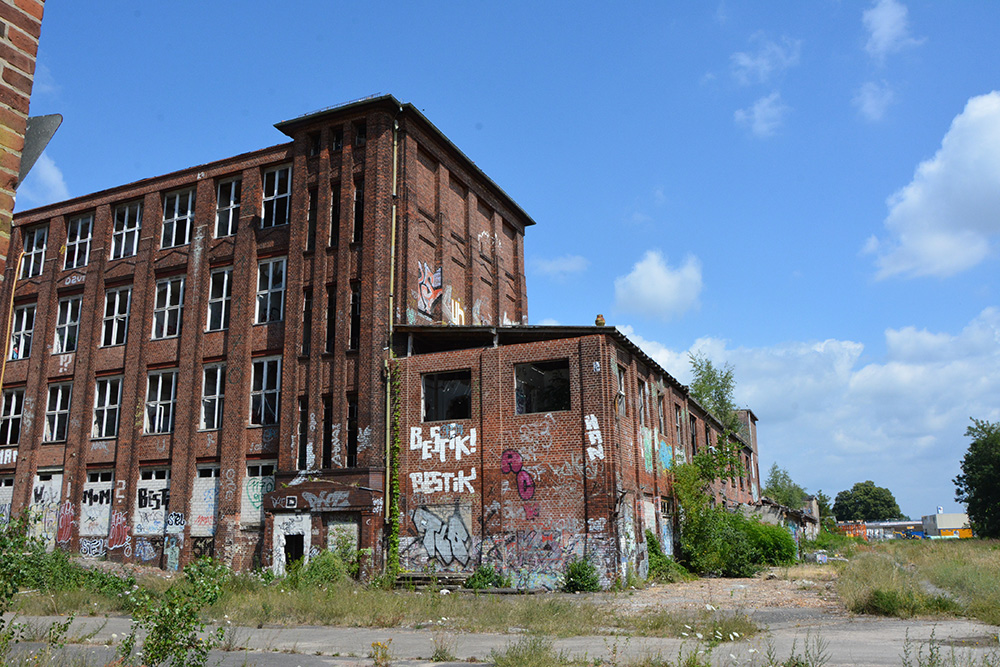 abandoned cable factory Berlin