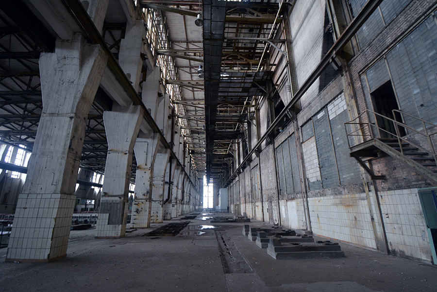 abandoned kraftwerk power plant