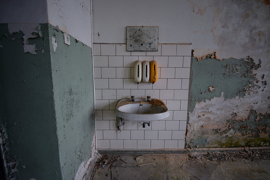 abandoned sink forgotten place