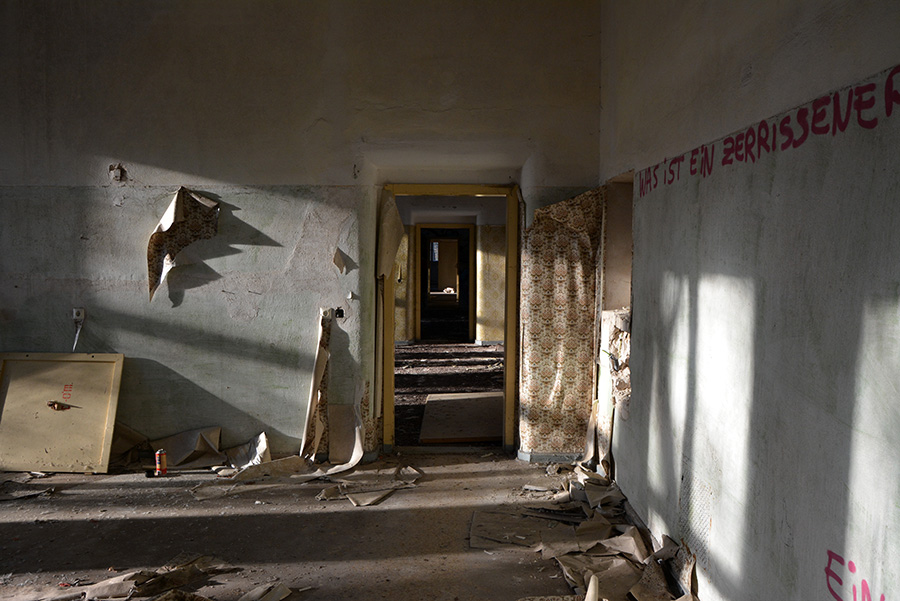 Psychiatric hospital berlin abandoned